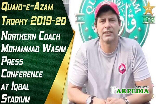 Mohammad Wasim Pakistani cricketer