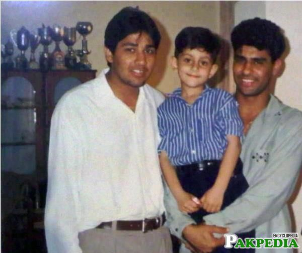 Inzamam-ul-Haq very Old Picture