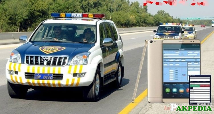 Motorway Police introduces E Challan System in Pakistan