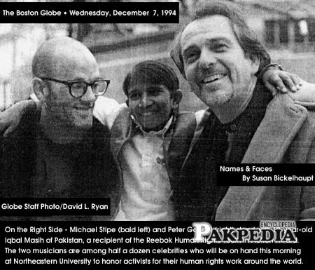 With peter gabriel