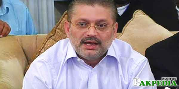Sharjeel Memon is a Politician