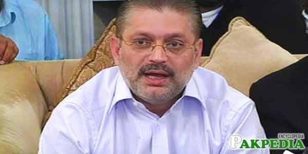 Sharjeel Memon is a Politician
