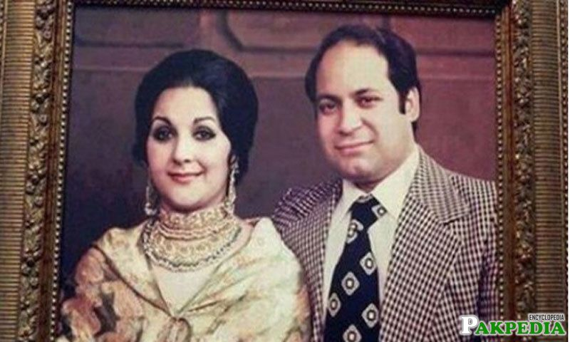 Kulsoom nawaz and nawaz shareef
