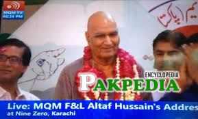 People congratulating him on joining MQM