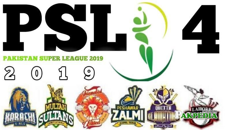 Teams of PSL 4
