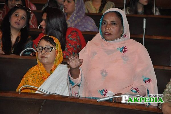 Haseena Begum in Punjab Assembly