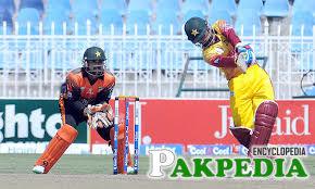 Yasir Hameed on Pitch