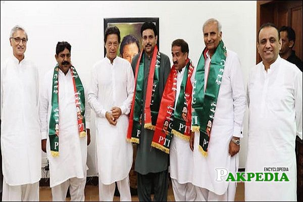 Rafaqat Ali Gillani joined Pakistan Tehreek e Insaf