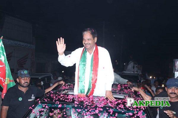 Mian Khalid Mehmood elected as MPA