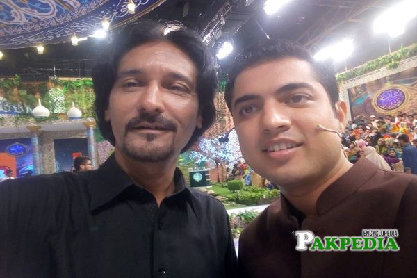 Hassan ayaz with iqrar ul hassan