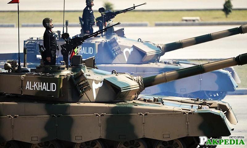 Pakistan Army AL Khalid Tank