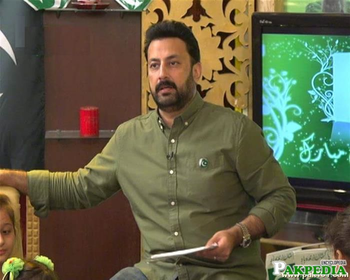 Babar Ali as TV Host