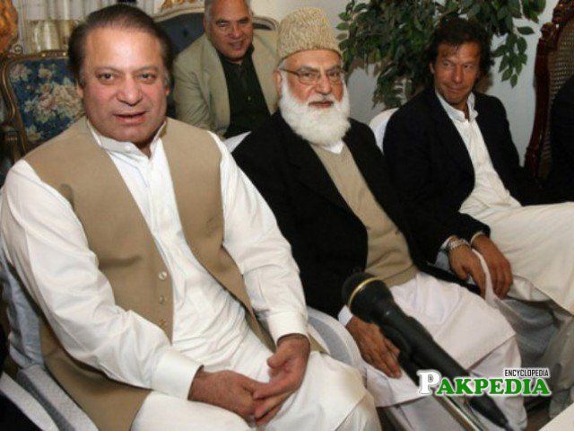 With Nawaz and Imran