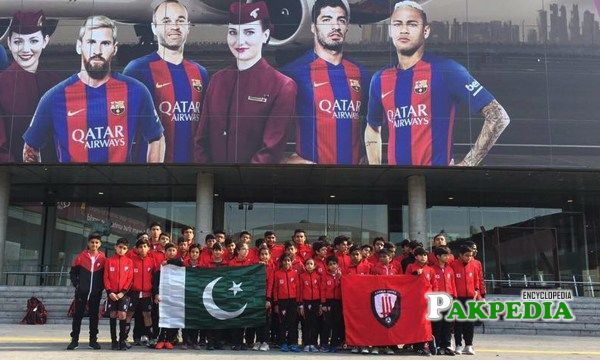 Karachi United is all set to visit the five times Champions League winners FC Barcelona