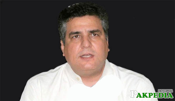 Daniyal Aziz A Politician