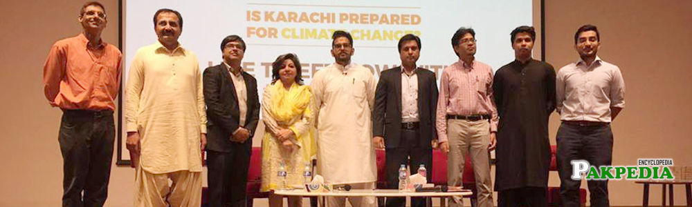 'Is Karachi Prepared for Climate Change' session