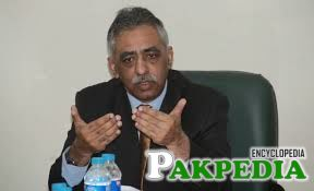 Zubair Umar in Office