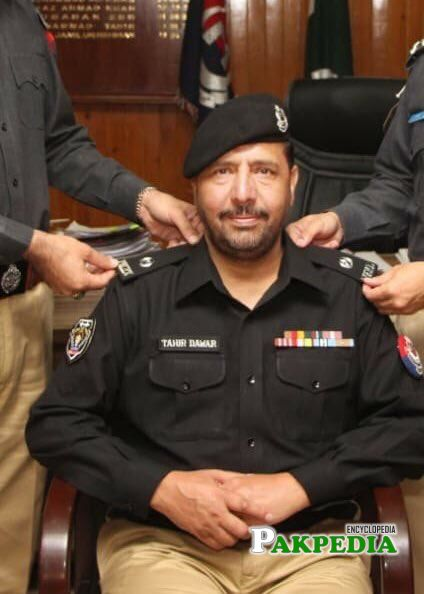 Acting SP Tahir Dawar