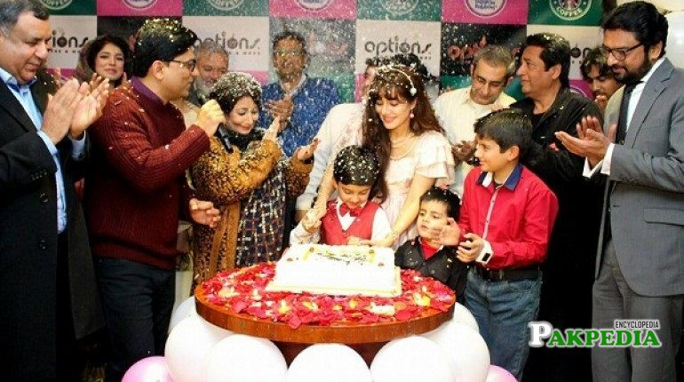 Rabi Pirzada Family