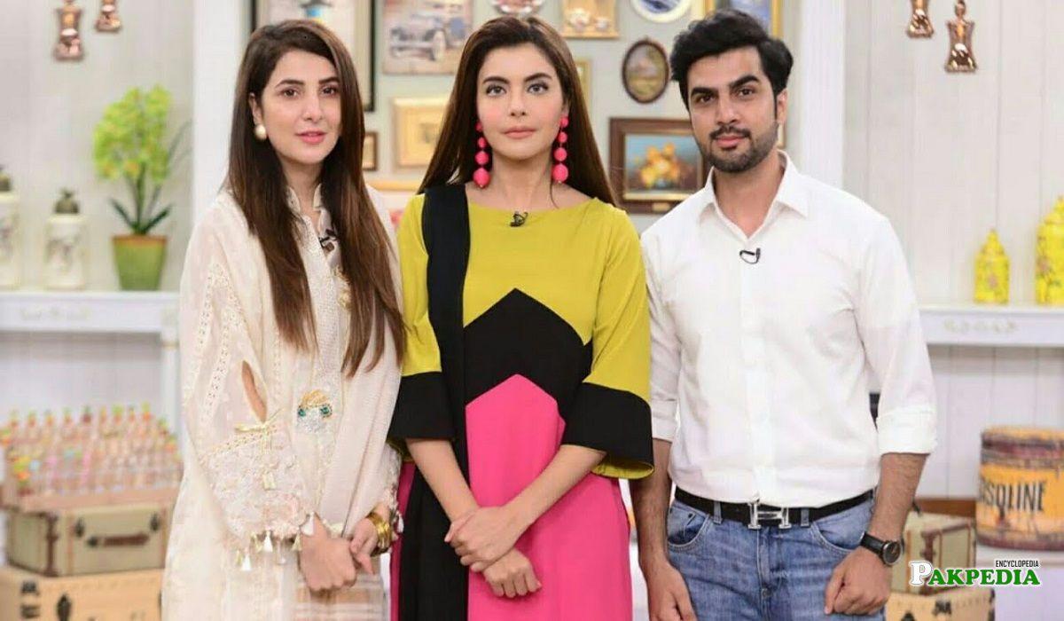 Areeba Habib Family