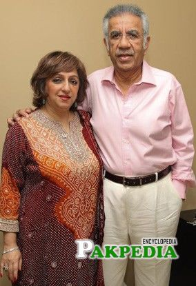 SH with his wife Noori