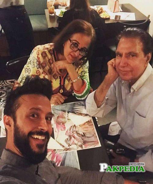 Ali Kazmi Parents