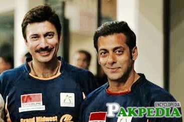 With Salman khan