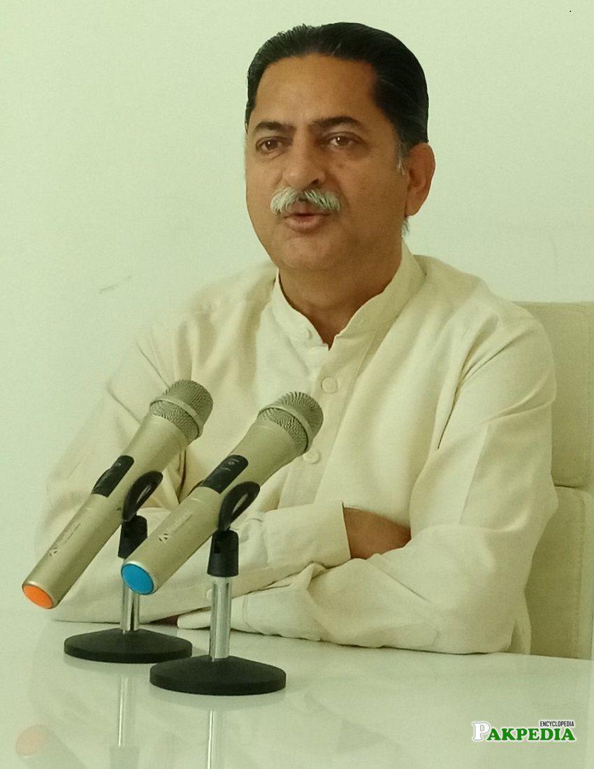 Mian Javed Political Career