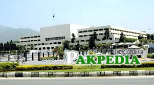 The Parliament house of Government of Pakistan