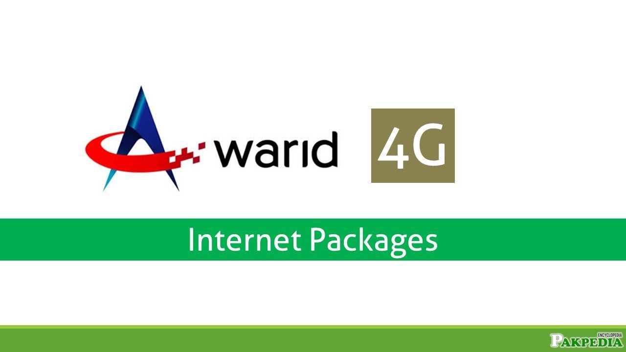 Warid 4G internet Package