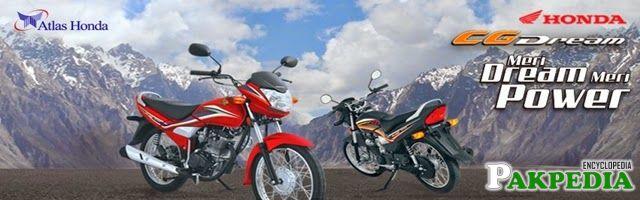 Launches Honda CG
