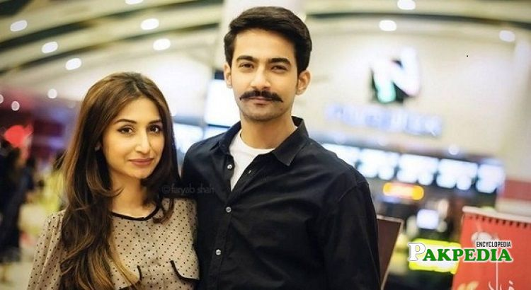 Ali Safina wife Hira Tareen
