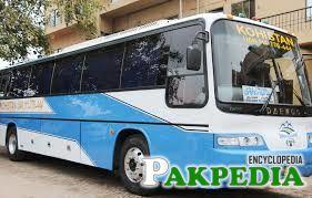 Kohistan Express bus services