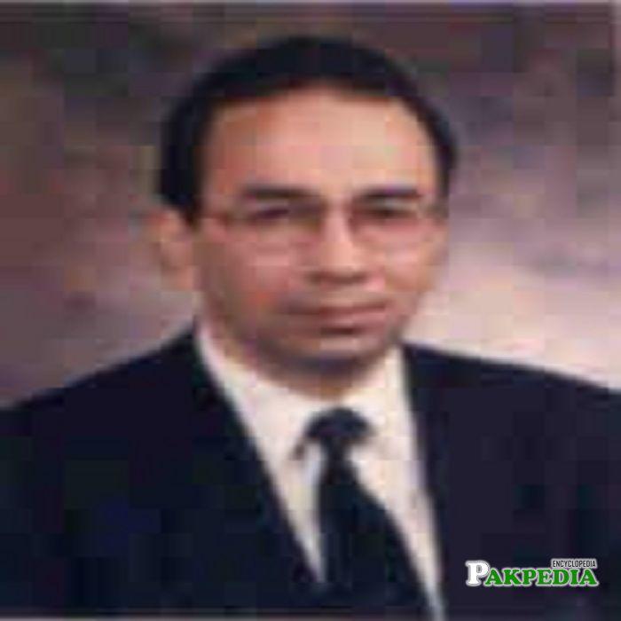 An old photo of Makhdoom Ali Khan