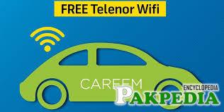 Careem Pakistan Free telenor wifi