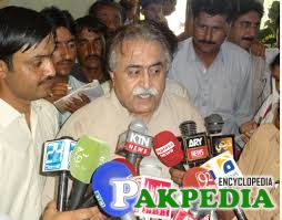 Maula Bakhsh Chandio on media talk