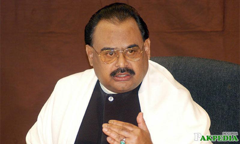 Altaf Hussain Leader of MQM