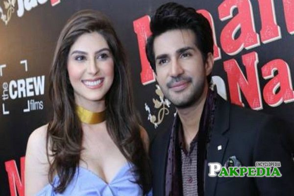 Adeel during promotion of his film