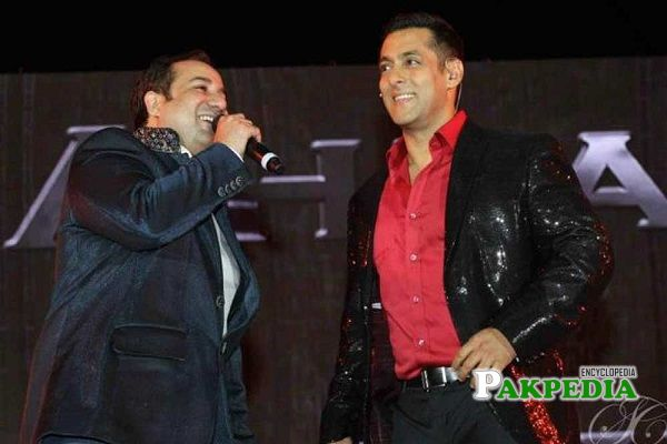Rahat Fateh Ali Khan and Salman Khan