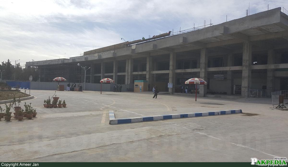 Quetta International Airport Outside