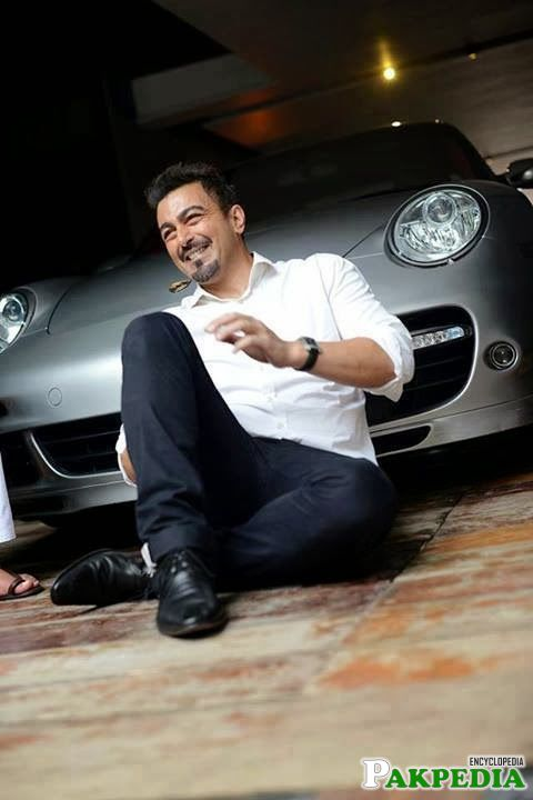 Shaan Shahid Smile Face