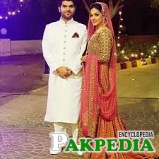 Sanam Jung with her Husband