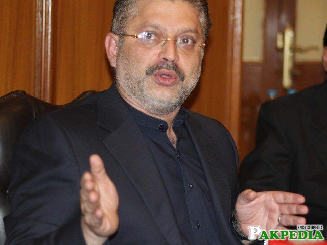 Sharjeel Memon is Member Of Provisional Assembly