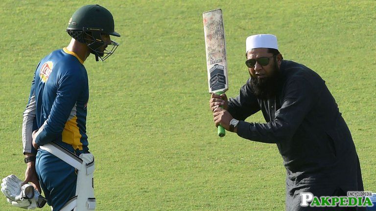 Inzamam-ul-Haq in the Ground