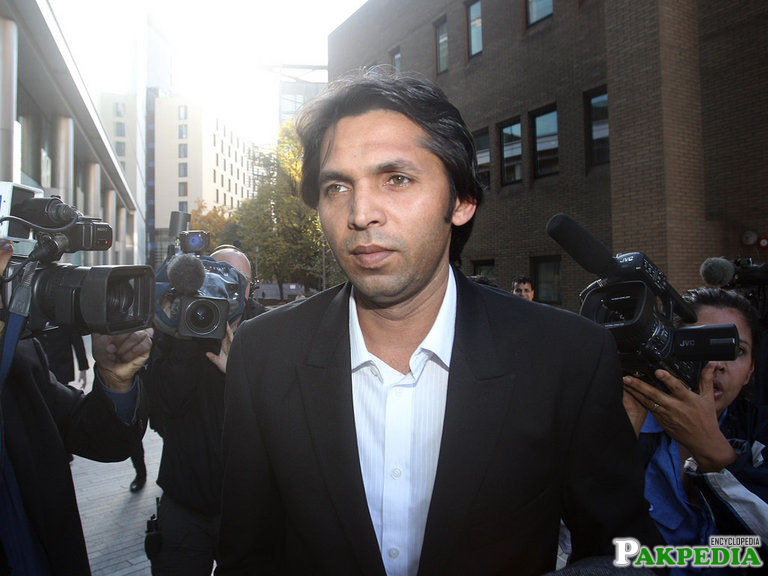 Mohammad Asif in Abroad