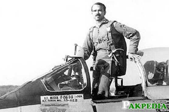 M M Alam Great Pilot