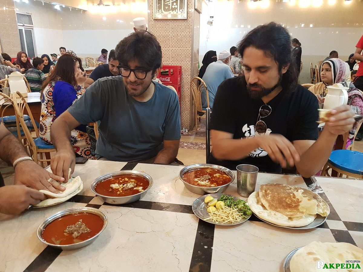 Noori band at Javed Nihari