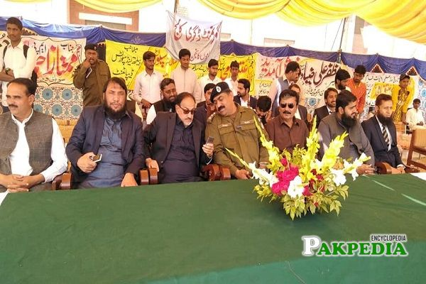 Muhammad Safdar Shakir at Gov college as a chief guest