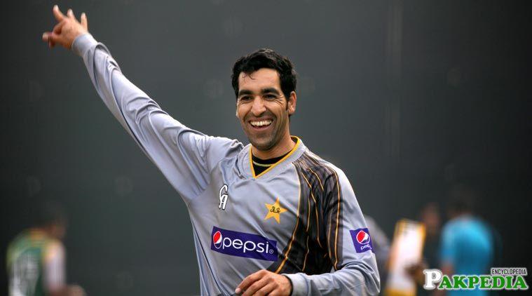 Umar Gul Pakistani Bowler
