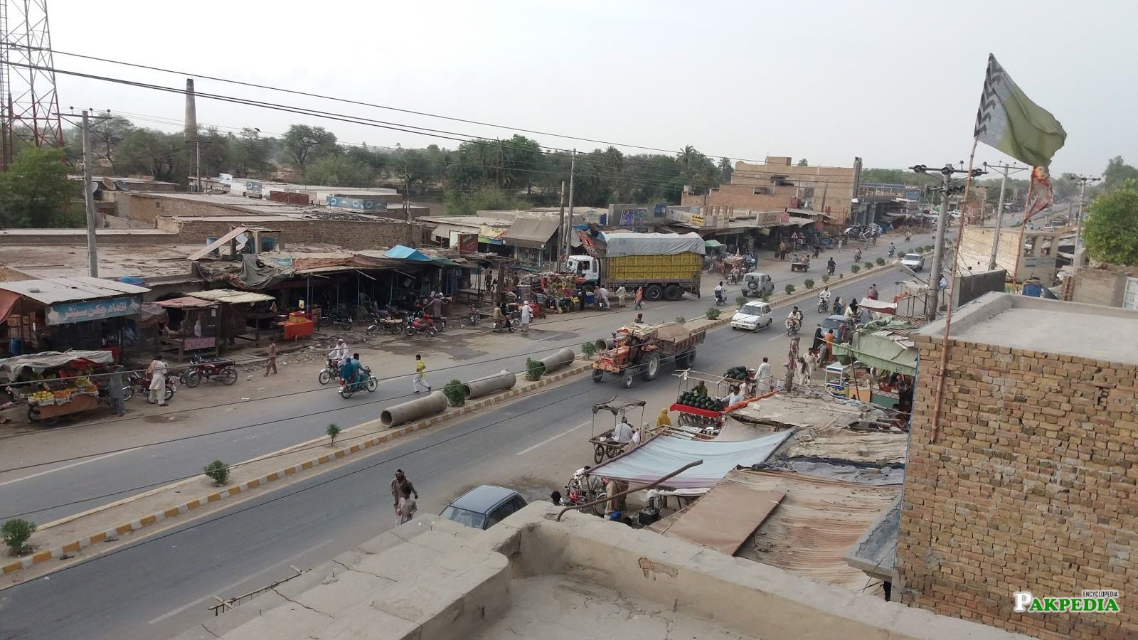 Khairpur Tamewali Main Road